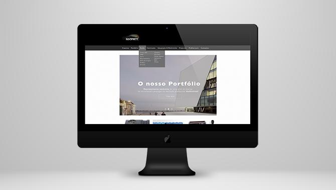 Garrett Audiovisuais Website