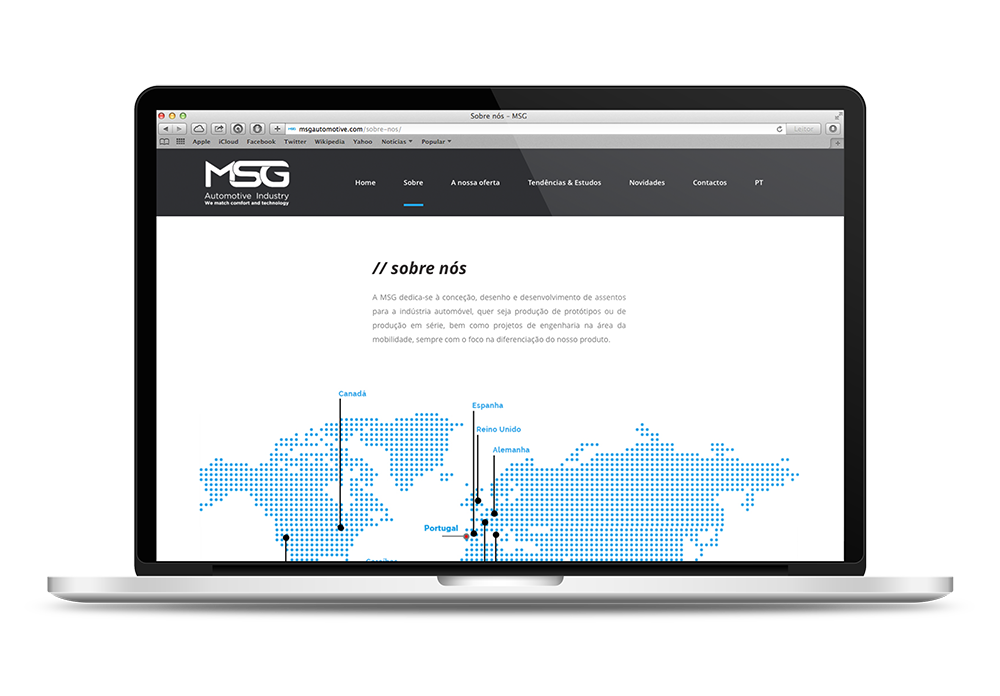 MSG Automotive Website