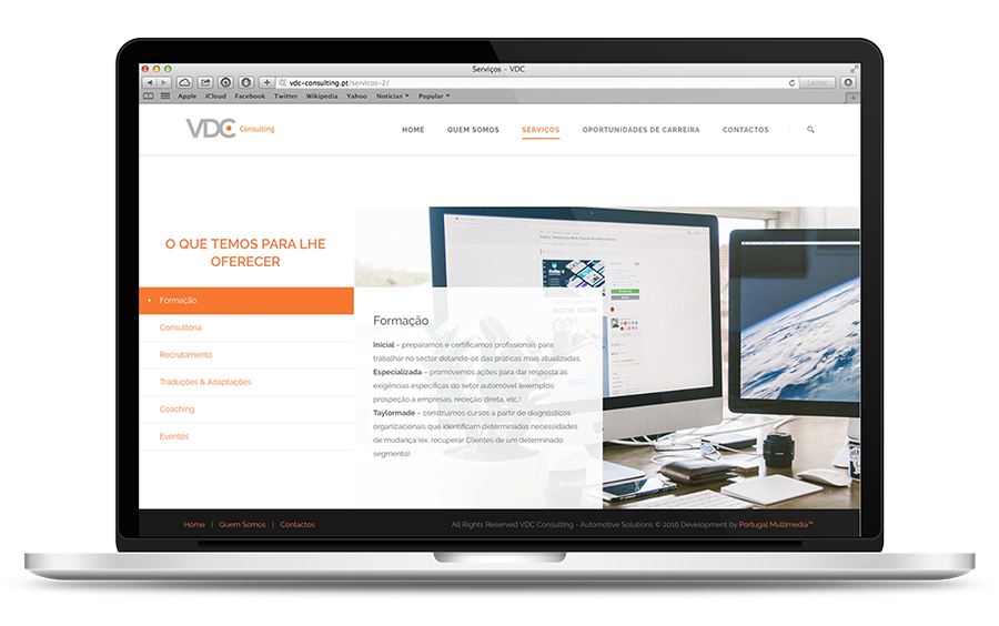 VDC Consulting Website