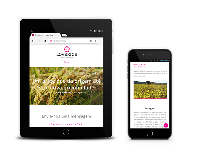 Loverice Website